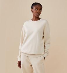 Rosy Oatmeal Sweatshirt